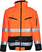 Warnpilotenjacke orange/marine Typ 174ZO