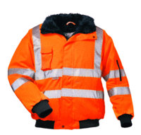 Warnpilotenjacke floureszierend orange